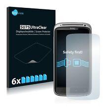 6x HTC Sensation Z710E Displayschutzfolie Klar Transparent Schutzfolie