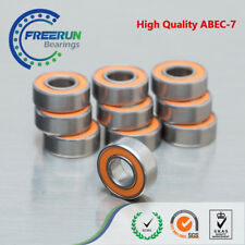 10pcs SMR104C 2OS 4x10x4 Hybrid Ceramic Stainless Fishing Reel Bearing Lube Dry
