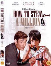 How to Steal a Million (1966, William Wyler) DVD NEW