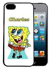 Coque de protection iPhone 4 / 4S personnalisée Bob l'Eponge