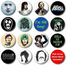 """MIGHTY BOOSH COLLECTION - 16x 25mm 1"""" Button Badges - Novelty Vince Noir Moon"""