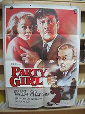 A3178 Chicago años 30 Party Girl Robert Taylor, Cyd Charisse, Lee J. Cobb,