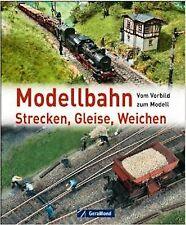 Modellbahn Strecken Gleise Weichen HO Eisenbahn Buch-NEW!!!