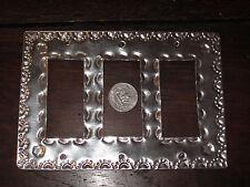 Aluminum Light Switch Plate Triple