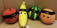 Fruit Ninja plush set of 4 items