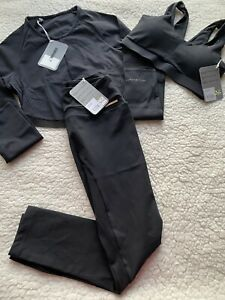 Gymshark x Whitney Simmons Set Bra Size S Crop Top Size S Leggings Size M NWT