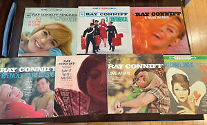 Ray Conniff lp record lot of 7 records- Columbia