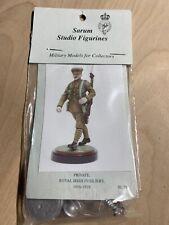 Sarum Studio Figurines Private Royal Irish Fusiliers 1916-18 Lead Soldier