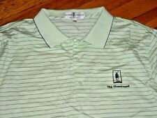 Fairway Greene Old Greenwood Golf Shirt Lime/Purple-Striped Cotton Xxl Sharp!