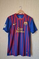 BARCELONA SPAIN 2011/2012 HOME FOOTBALL SHIRT JERSEY CAMISETA NIKE SIZE M