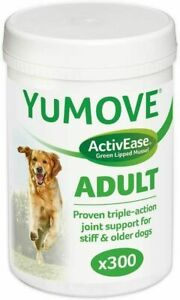 Lintbells Yumove Dog Essential Hip and Joint Supplement for Stiff Dogs 300 Tabs