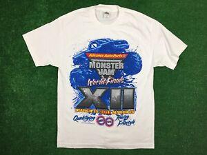 Advance Auto Parts Monster Jam 2011 World Finals T-shirt Men Sz L Truck Nwot New