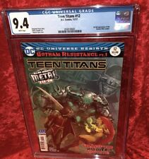 Teen Titans #12 CGC 9.4 (1st appearance of the Batman Who Laughs)