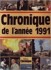 Jacques Legrand - Chronique de l'année 1991 - 1998 - relié