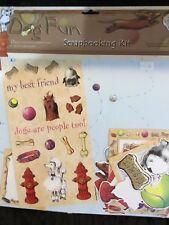 Carol Wilson Dog Fun Scrapbooking Kit
