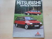 52705) Mitsubishi Space Wagon Prospekt 04/1986