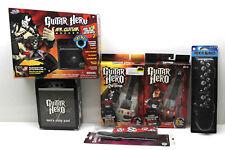 6 Pc Guitar Hero Lot Air Rocker+2 Carabiner+Men's Sleep Pants+2 Guitar Strap NIB