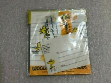 Vintage Hallmark Snoopy  Letter Set-Yellow Small-Made in Japan(Unique)