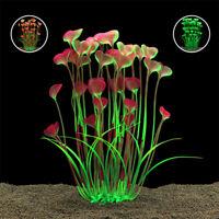 Grass Aquarium Decor Water Weeds Ornament Plastic Plant Fish Tank 3 Colors