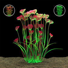 Grass Aquarium Decoration Weeds Ornament Plastic Plant Fish Tank 3 Color o1w