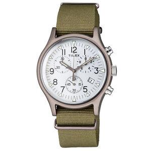 Timex MK1 Quartz Movement Silver Dial Men's Watch TW2R67900