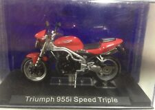 MOTO MINIATURA TRIUMPH 955I SPEED TRIPLE