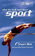 What the Book Says About Sport by Stuart Weir (Paperback, 2000)