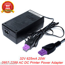32V 625mA AC Adapter For HP Printer 0957-2269 0957-2242 0957-2289 Power Supply