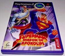 Superman: Shadow of Apokolips PS2 PAL *No Manual*