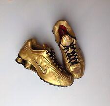 Scarpe Da Tennis  Nike Shox R4 N 39 Pelle Oro