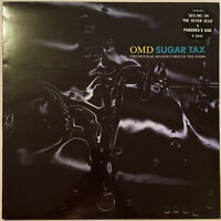 OMD SUGAR TAX LP VIRGIN UK 1991 EX CONDITION PRO CLEANED