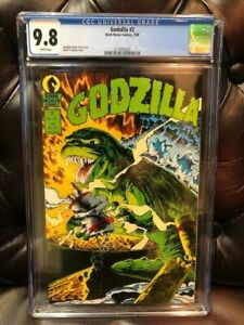 Dark Horse Comics GODZILLA #2 CGC 9.8 NM/MT Near Mint 1988 1st Print HIGH GRADE