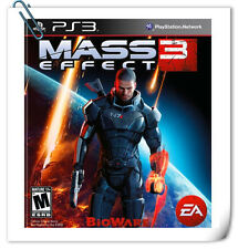 PS3 Mass Effect 3 SONY PlayStation Electronic Arts EA Games Action