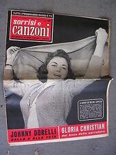 TV SORRISI e CANZONI # 19 - 11 MAGGIO 1958 - JOHNNY DORELLI e GLORIA CHRISTIAN