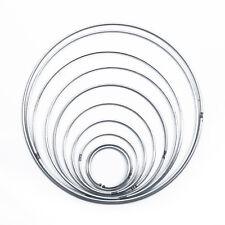 10x Argento Acchiappasogni Anello Artigianato Cerchio Fatto a Mano Decorazione