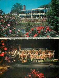 Patricia Murphy's Postcard Westchester Candlelight Restaurant Yonkers NY 1960+/-