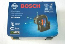 Bosch Gpl100 50g 5 Point Laser Alignment With Self Leveling New