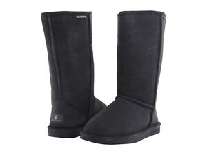BERAPAW womens Cold Weather Winter 612W EMMA Tall charcoal winter boots 5 6 NEW