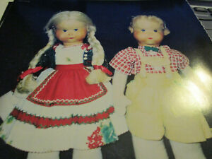 4pg Kathe Kruse Cloth Doll History Article / MYSTERIOUS / Zito