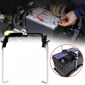 1* Car Storage Battery Holder Adjustable Stabilizer Metal Rack Mount Bracket Kit
