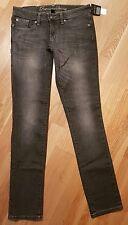 Women's Grey GAP Premium Skinny Jeans Size USA 2/26 R BNWT