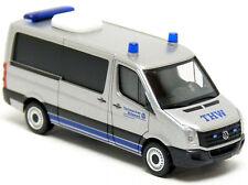 HERPA MiniKit 1:87 PKW VW Crafter mit Kofferaufbau weiß Bausatz #013185