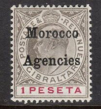 Great Britain Offices In Morocco #25 VF Mint