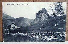Tornetti m.1200 - Rocca Sapai [piccola, b/n, non viaggiata]