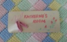 """Katherine"" Name Plate for Door new"