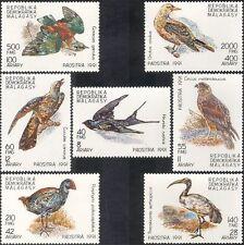 Madagascar 1992 Swallow/Ibis/Harrier/Birds/Raptors/Nature/Wildlife 7v set n44115