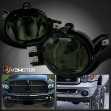 2002-2008 Dodge Ram 1500 2500 Smoke Lens Bumper Driving Fog Lights+Switch