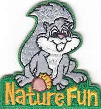 """""""NATURE FUN"""" PATCH - Iron On Embroidered Applique Patch/School, Learning"""