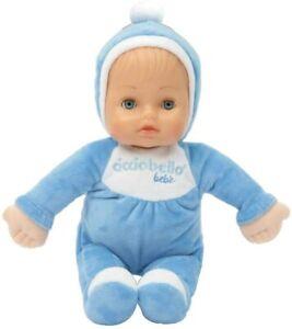 Cicciobello Babypuppe Spielzeug Stoff Puppe waschbar Geschenk Toy blau B-WARE