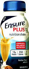 Ensure Plus Nutrition shake Vanilla Flavor 8oz ( Pack of 24 )